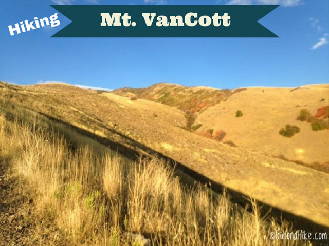 Hiking to Mt.VanCott
