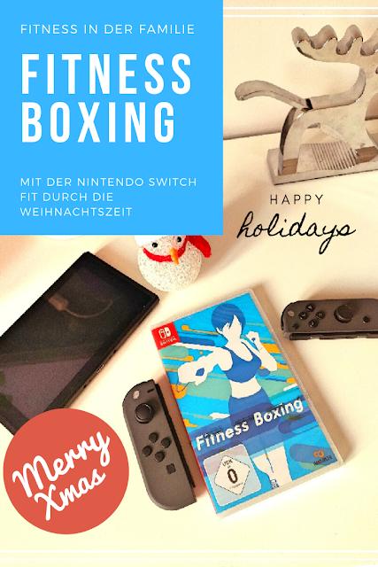 In der Weihnachtszeit fit bleiben mit Bewegungsspielen der Nintendo Switch