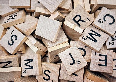 Letras de Scrabble