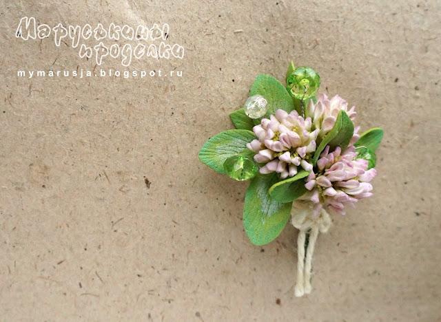 полевые цветы из фоамирана