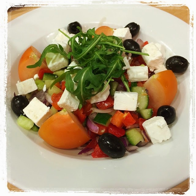 Eating Healthy - Greek Salad
