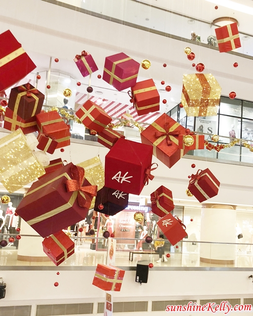 The Art of Gifting, Avenue K, Shopping Centre Christmas Decorations, Malaysia Shopping mall