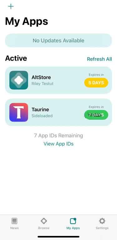 ظهور تطبيق جلبريك تورين Taurine