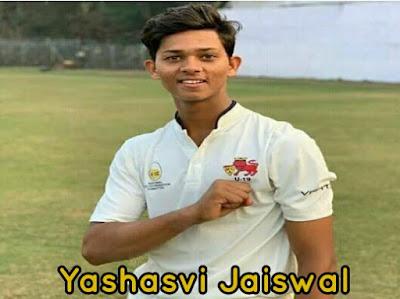 Yashaasvi jaiswal biography hindi