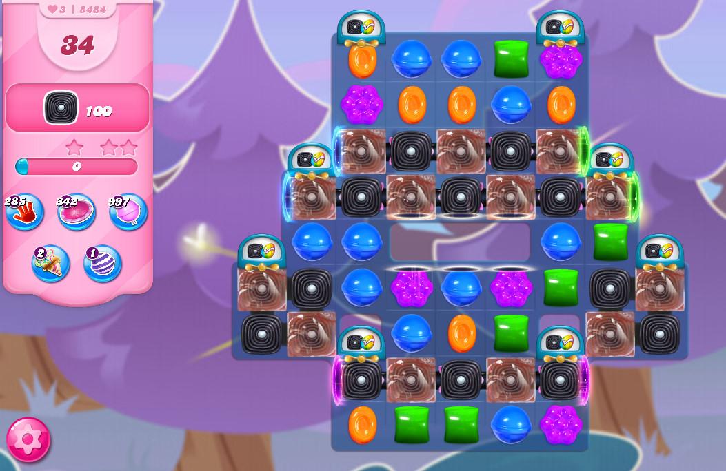 Candy Crush Saga level 8484