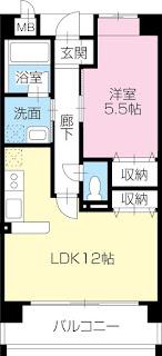 徳島 佐古 田宮 鉄筋コンクリート造 ハイクオリティ 1LDK