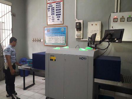 Antisipasi Pengunjung Nakal, Rutan Selong Gunakan X-Ray