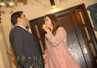 host Nadia Khan Walima Pictures and Videos