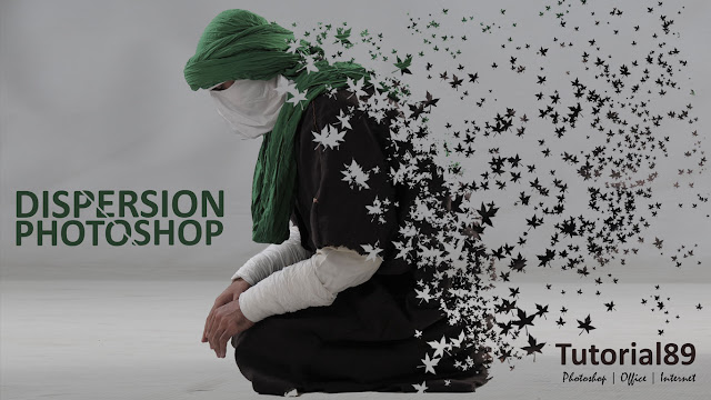 Cara membuat efek foto dispersion dengan photoshop + Video