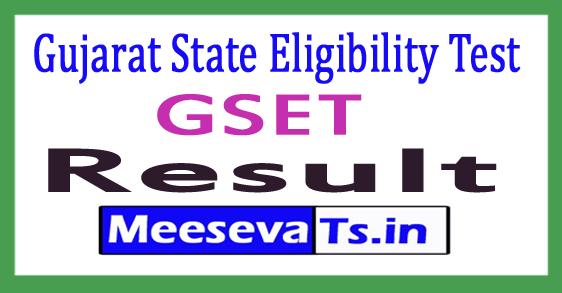 GSET Result 2017