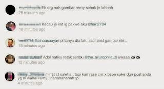Peminat Tak Suka Remy Ishak Muat Naik Foto Siti Saleha, info, terkini, hiburan, sensasi, gosip, remy ishak