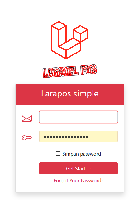 aplikasi pejualan toko dengan laravel php artisan