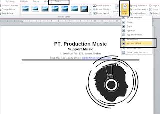 mengatur logo