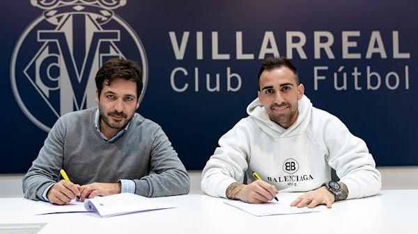 Oficial: El Villarreal ficha a Paco Alcácer