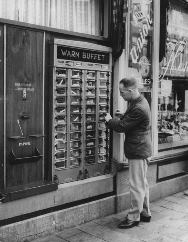 50s vending machine