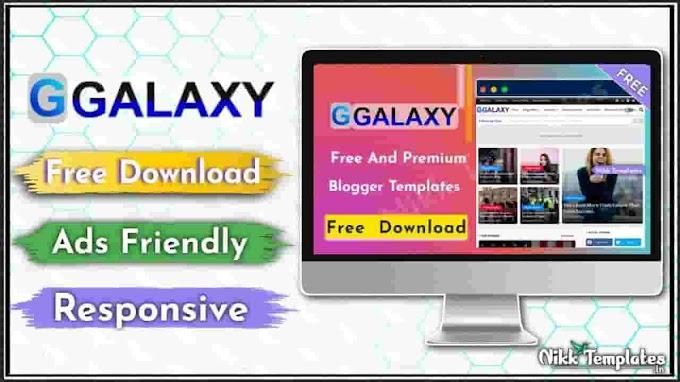 Galaxy & Responsive Blogger Template - Nikk Templates