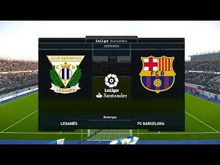 LIVE MATCH: Leganes Vs Barcelona La Liga  23/11/2019