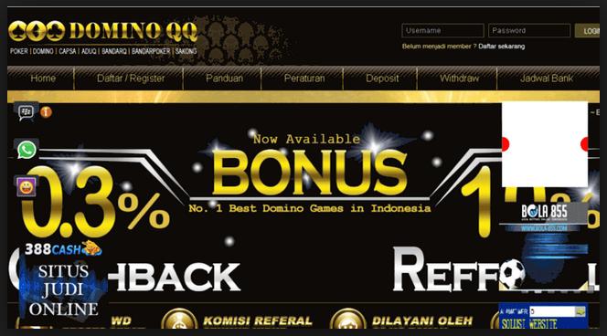 Situs judi qq online terpercaya Domiinoqq
