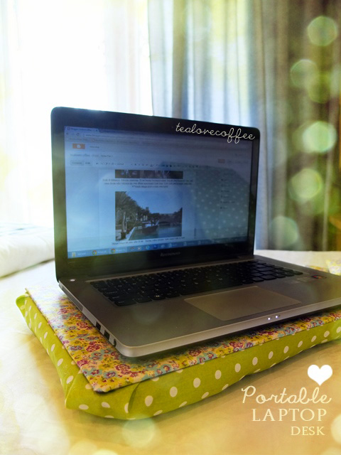 mrs. Tiananana: DIY: Portable Laptop Desk (no sew)