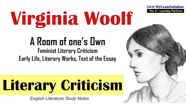 myexamsolution, virginia woolf, feminist criticism