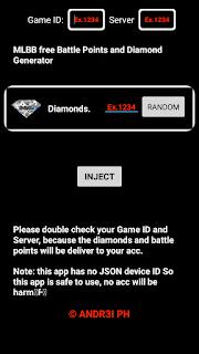 Diamond Generator ML - screenshot 2