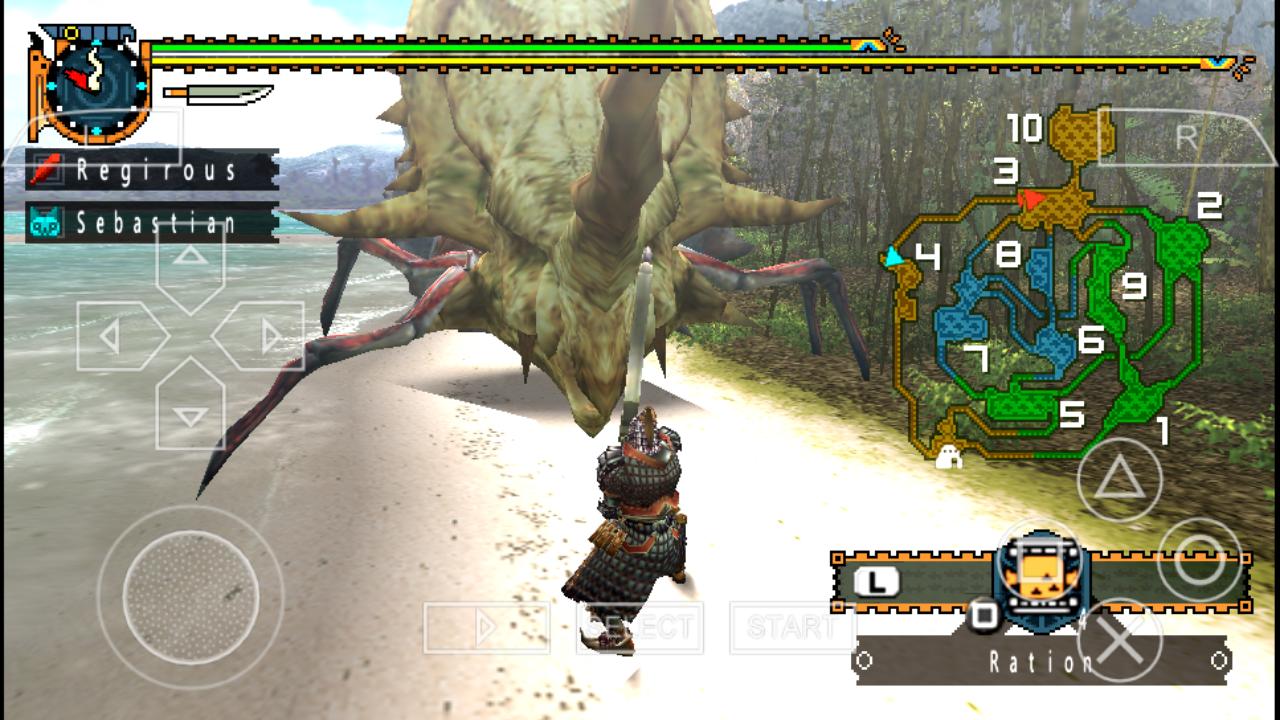 monster hunter 2 psp iso