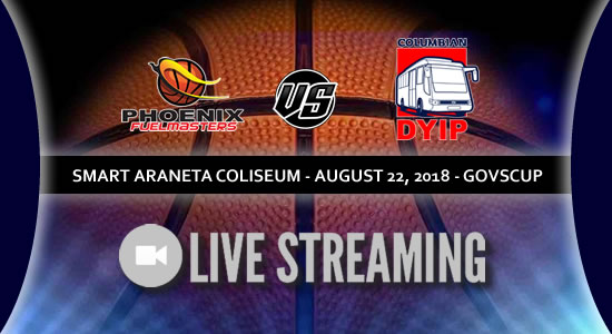 Live Streaming List: Phoenix Fuelmasters vs Columbian Dyip 2018 PBA Governors' Cup
