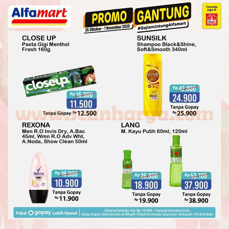 Alfamart GANTUNG Promo Gajian Untung 26 Oktober - 1 November 2020 2