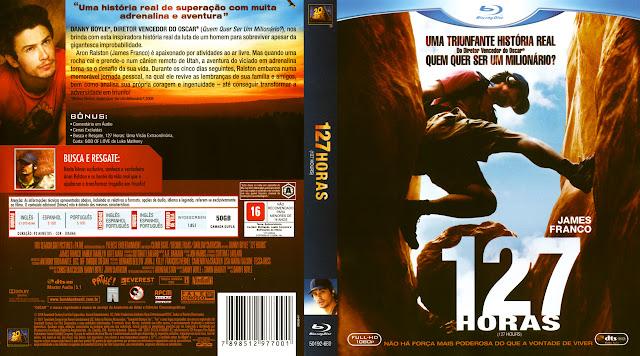 Capa Blu-ray 127 Horas