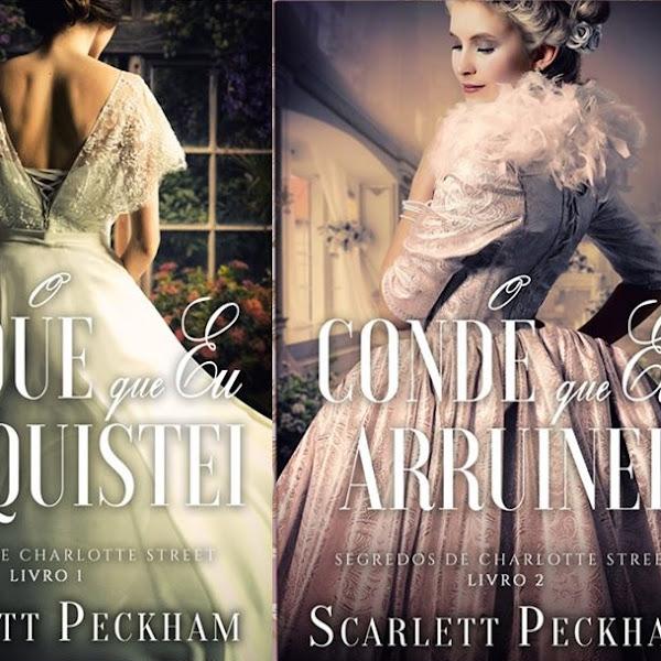 Série Segredos de Charlotte Street de Scarlett Peckham