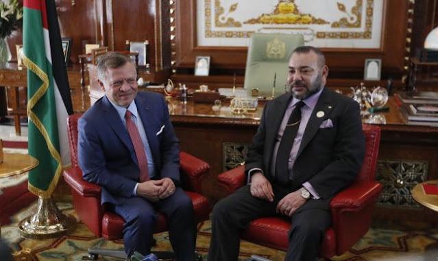 الكركرات: الملك محمد السادس يلتقي الملك عبد الله الثاني ملك الأردن