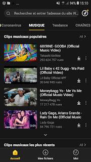 تحميل Snaptube لتنزيل الفيديوهات والاغاني من الفيسبوك ويوتيوب وتيك توك