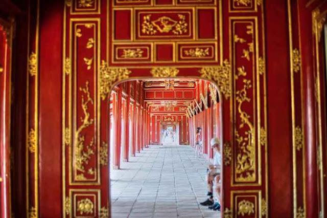 Đại Nội Huế giờ đã mở cửa cho du khách trong nước và quốc tế ghé thăm. (Ảnh: redsvn.net)