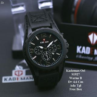 Jual Jam Kademan warna hitam