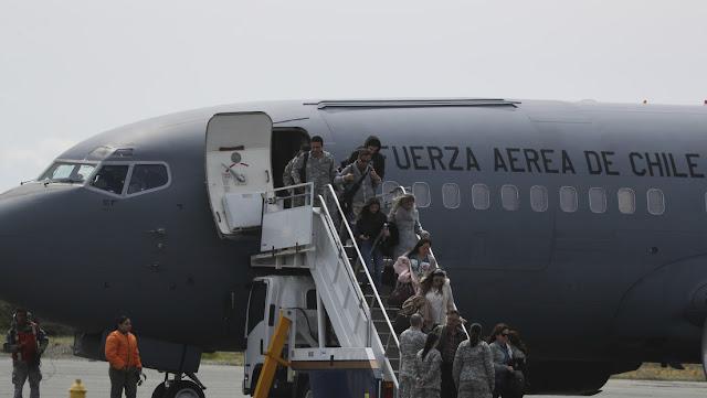 Chile: Encuentran posibles restos del avión militar desaparecido