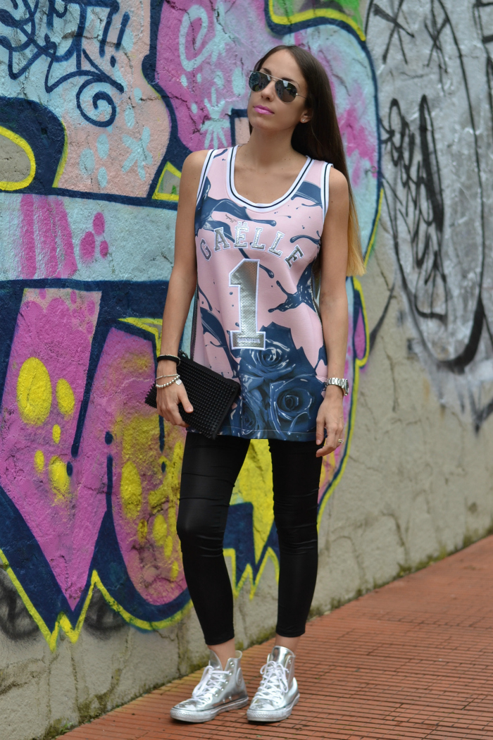 outfit street style canotta basket