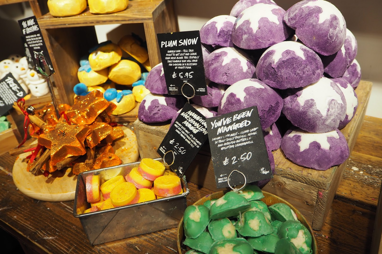 Lush Liverpool Halloween and Christmas Blogger Event