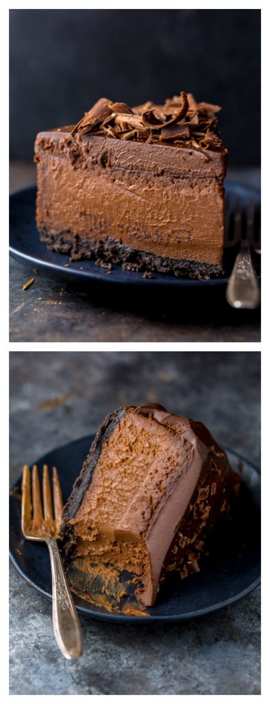 Ultimate Chocolate Cheesecake