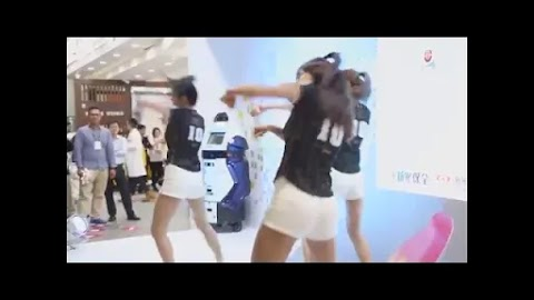 Asian girls performing at the event [1:52]