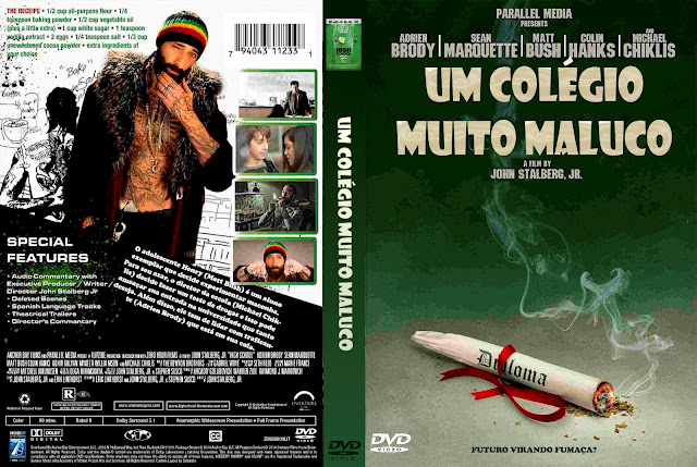 Capa DVD Um Colégio Muito Maluco