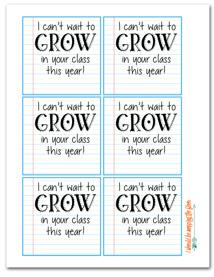 Budget Friendly Back to School Teacher Gifts with Free Printable Gift Tags