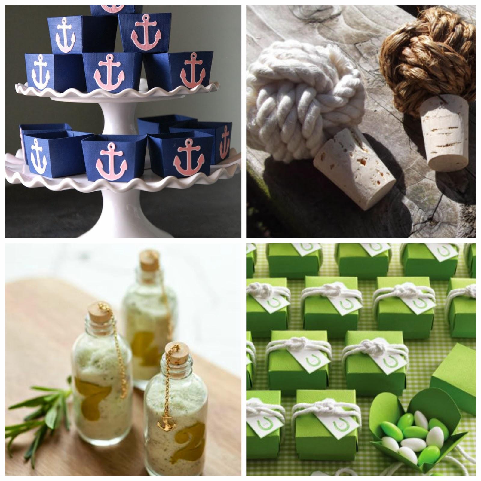 A Bride's BFF: Nautical Wedding Favor Ideas