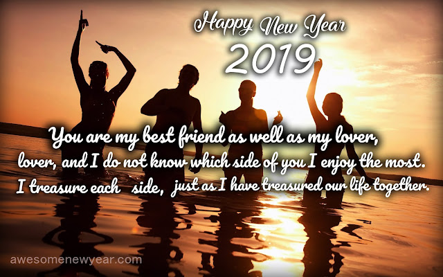New Year 2019 Images to Friends
