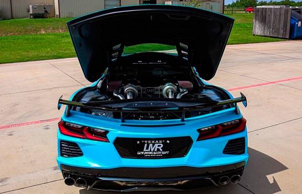 Chevrolet Corvette C8 Stingray preparado por LMR