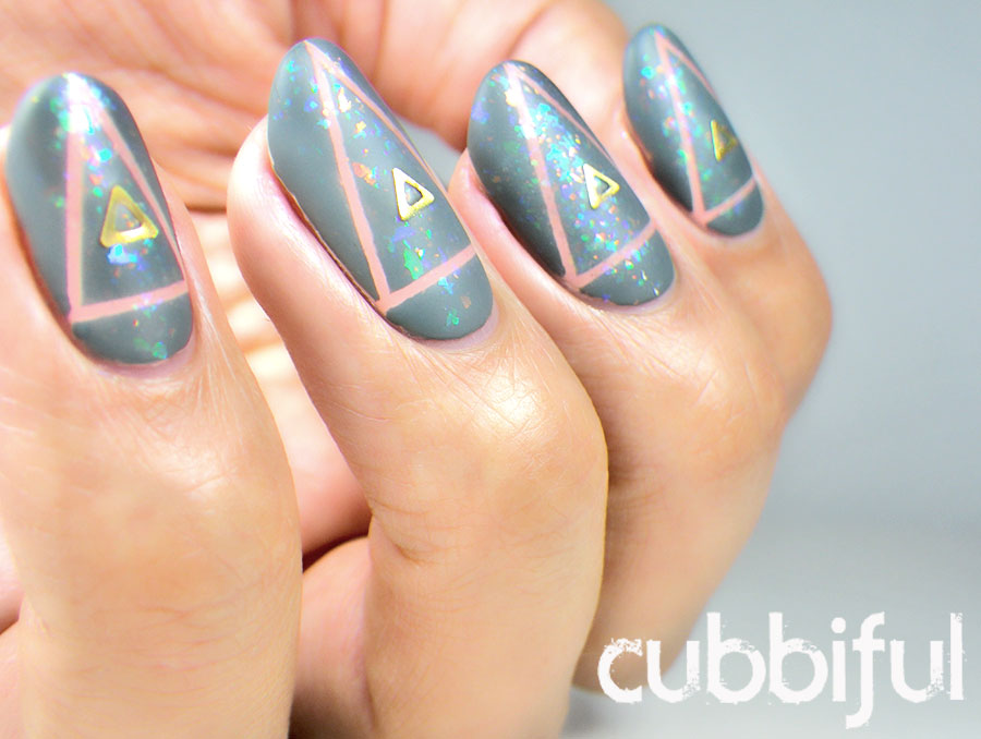 triangle studs nails