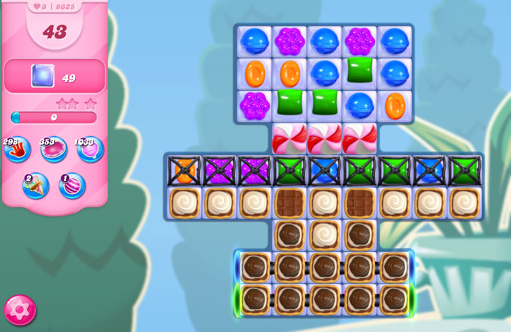 Candy Crush Saga level 8625