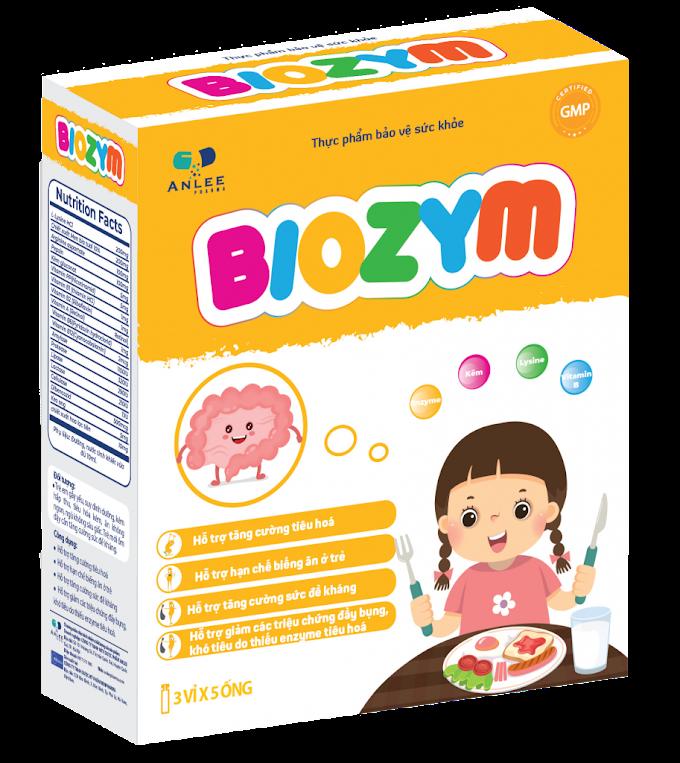 Biozym - Đặc Trị Biếng Ăn, Tăng Đề Kháng , Tăng Cân, Ngủ Ngon Cho Bé