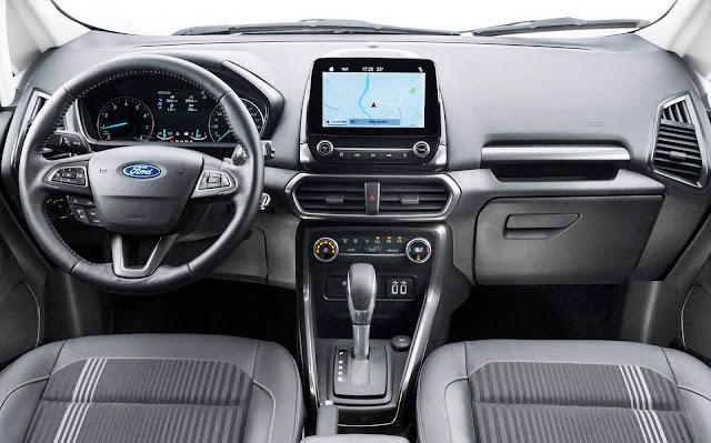 Novo Ford EcoSport 2018 - interior