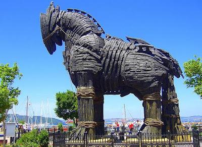 Gambar Kuda Troya