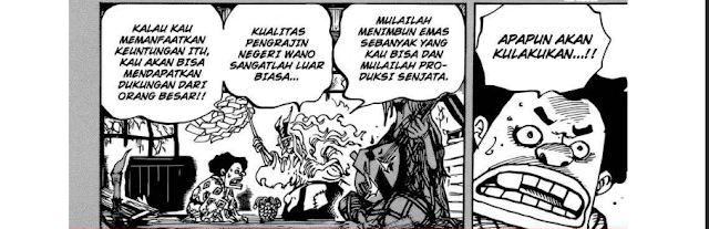 Spoiler Manga One Piece 966 - Shiroige vs Roger